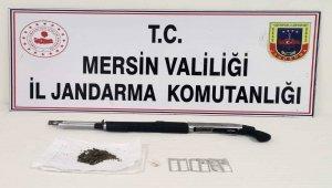 Mersin'de uyuşturucu ticareti yapan 1 kişi yakalandı