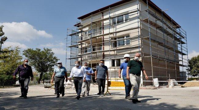 Başkan Ataç yenilenen Batıkent Belde Evi'ni inceledi