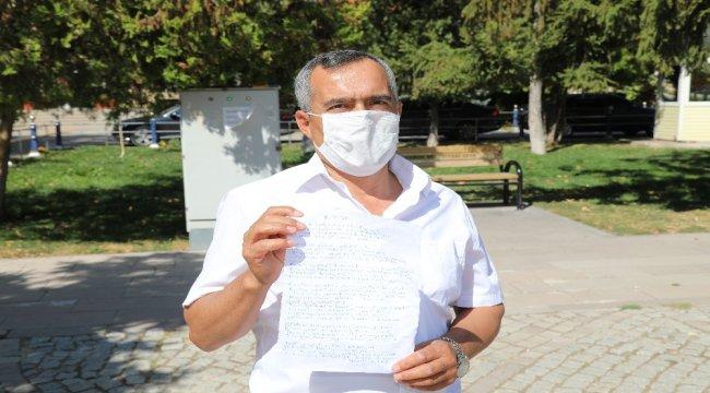 Çorumlu işçi korona virüse şiir yazdı