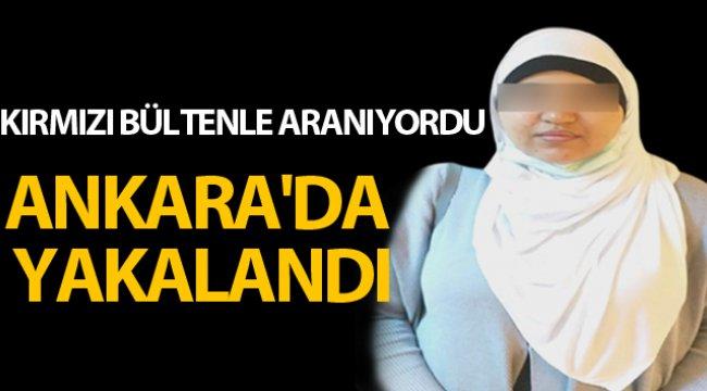 Kırmızı bültenle aranan DEAŞ'lı kadın Ankara'da yakalandı