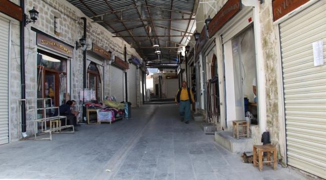 Mardin'de tam kapanmanın 5'inci gününde sessizlik sürüyor