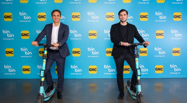 GNÇ'liler çevre dostu scooter BinBin'i sürebilecek