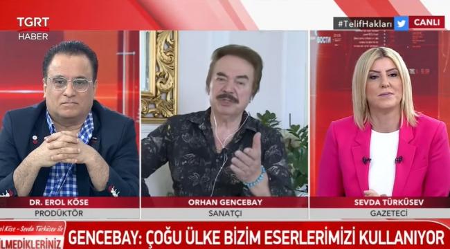 """Ünlü sanatçı Orhan Gencebay: """"Her şeyi devletten beklemeyelim"""""""