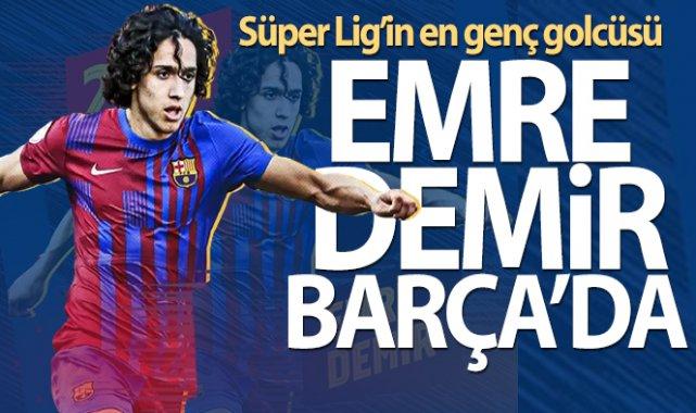 Kayserispor, Emre Demir'in Barcelona'ya transferini açıkladı!