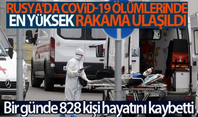 Rusya'da Covid-19 ölümlerinde en yüksek rakama ulaşıldı!