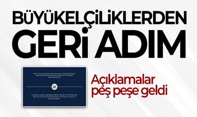 Büyükelçiliklerden, Osman Kavala açıklamasından sonra geri adım!