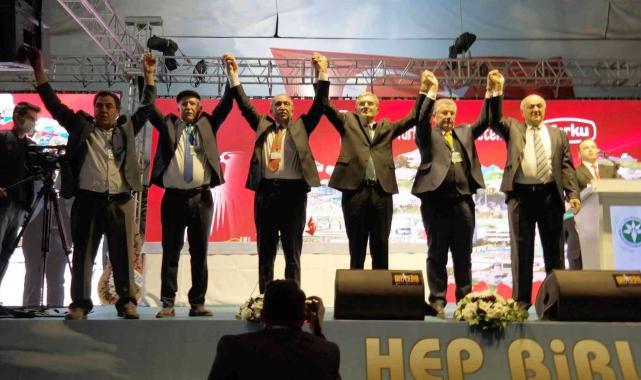 Konya Pancar Ekicileri Kooperatifi 69. Seçimli Olağan Genel Kurulu yapıldı