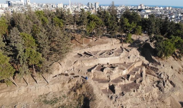 Yumuktepe Höyüğünde 29 yıldır devam eden kazılar sona erdi