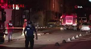 Sarıyer'de korkutan patlama Mahalleli sokağa döküldü