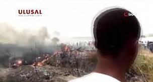 Nijerya'da askeri uçak düştü